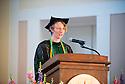 Christa Zehle, M.D. Commencement, class of 2013.
