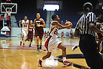 "Ole Miss' Amber Singletary (20) vs. UMass at the C.M. ""Tad"" Smith Coliseum in Oxford, Miss. on Saturday, December 8, 2012."