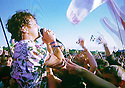 Glastonbury Festival on the BBC. Friendly Fires