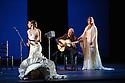 Wells presents Esperanza Fernandez in DE LO JONDO Y VERDADERO, as part of the Flamenco Festival London 2016. Picture shows: Ana Morales, Miguel Angel Cortes, Esperanza Fernandez.