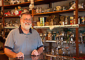 Virgelle Mercantile owner and antiques dealer Don Sorenson; Virgelle, Montana.