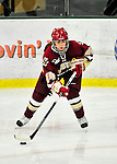16 October 2010: Boston College Eagles' defender Meagan Mangene, a Freshman from Miller Place, NY, in action against the University of Vermont Catamounts at Gutterson Fieldhouse in Burlington, Vermont. The Eagles defeated the Lady Cats 4-1 in the second game of their weekend series. Mandatory Credit: Ed Wolfstein Photo