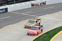 30 March - 1 April, 2012, Martinsville, Virginia USA.Tony Stewart, J.J. Yeley.(c)2012, Scott LePage.LAT Photo USA