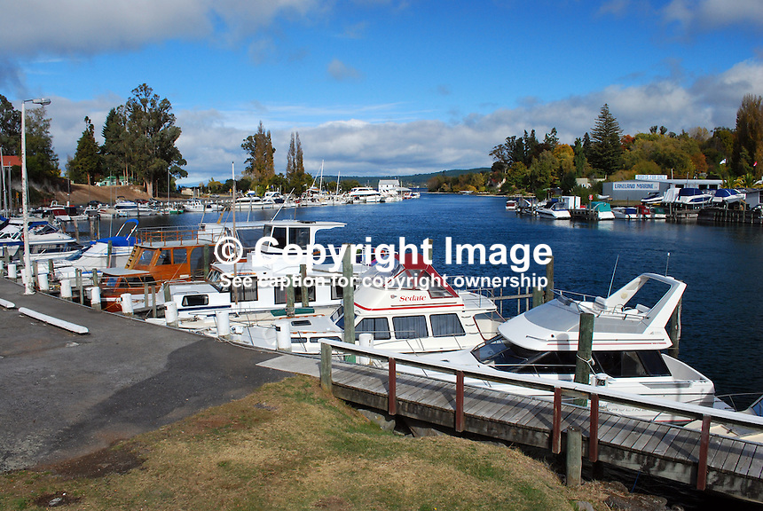 Marina, Taupo, Lake Taupo, New Zealand. 20104145410..Copyright Image from Victor Patterson, 54 Dorchester Park, Belfast, United Kingdom, UK. Tel: +44 28 90661296. Email: victorpatterson@me.com; Back-up: victorpatterson@gmail.com..For my Terms and Conditions of Use go to www.victorpatterson.com and click on the appropriate tab.