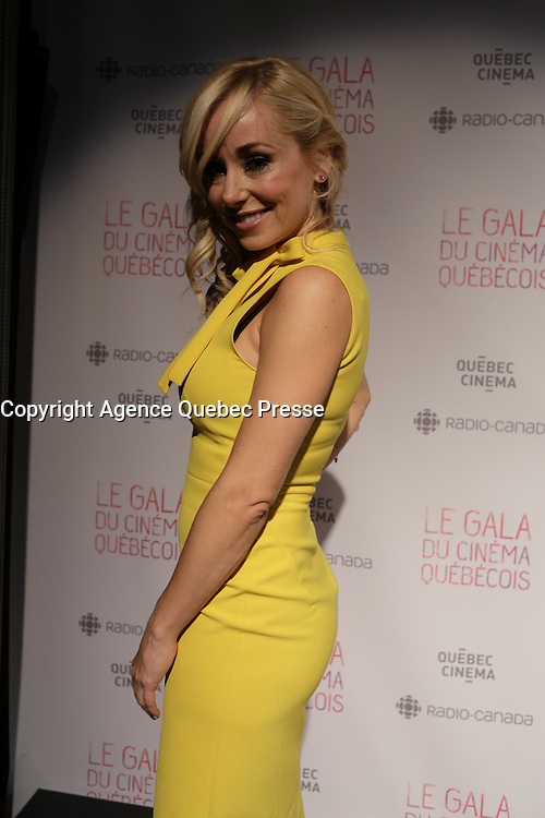 at the Gala du cinema Quebecois.<br /> <br /> Photo : Pierre Roussel - Agence Quebec Presse