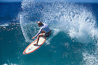 Lisa Andersen (USA) . Burleigh Heads, Queensland,  Australia 1998.  Photo:  joliphotos.com