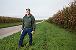 Bob Bunselmeyer grows corn and soybeans in Macon County, Ill.