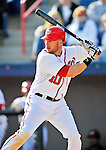 4 March 2012: Washington Nationals outfielder Corey Brown in action against the Houston Astros at Space Coast Stadium in Viera, Florida. The Astros defeated the Nationals 10-2 in Grapefruit League action. Mandatory Credit: Ed Wolfstein Photo