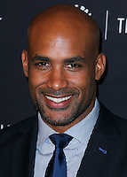 BEVERLY HILLS, CA, USA - OCTOBER 14: Boris Kodjoe arrives at the Paley Center for Media's An Evening with BET Networks' 'Real Husbands of Hollywood' held at the The Paley Center for Media on October 14, 2014 in Beverly Hills, California, United States. (Photo by Xavier Collin/Celebrity Monitor)
