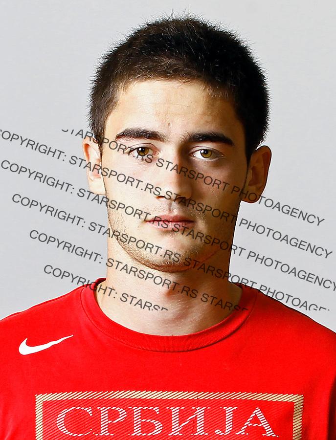 Sasa Zdjelar, U19, under 19, Serbian national u19 footbal team, reprezentacija Srbije 7.10.2013. (credit: Pedja Milosavljevic  / thepedja@gmail.com / +381641260959)