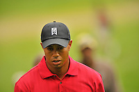 Tiger Woods walks the fairway for his 2:20pm tee time during the final round of  the AT&T National at the Congressional Country Club in Bethesda, MD on Sunday, July 5, 2009.  Alan P. Santos/DC Sports BoxTiger Woods