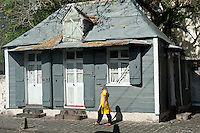 Fine example of what were typical Port Louis homes.