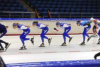 SCHAATSEN: HEERENVEEN: 03-10-2014, IJsstadion Thialf, Team Continu, ©foto Martin de Jong