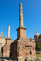 Columns in the Forum Rome