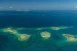 Aerials of the Fijian reef system from Lautoka to Naviti Island.