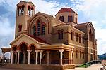 Travel stock photo of Archangelos Michail orthodox church in Parekklisia village near Limassol in Cyprus Spring 2007 Horizontal