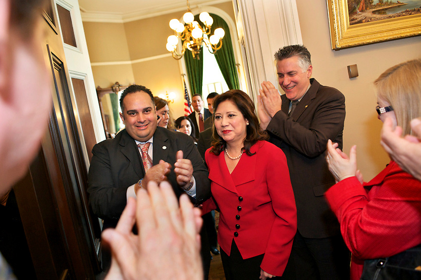 US Secretary of State Hilda Solis (2011 and 2010 photos by Pico van Houtryve)