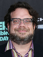 HOLLYWOOD, LOS ANGELES, CA, USA - OCTOBER 06: Christophe Beck arrives at the World Premiere Of Disney's 'Alexander And The Terrible, Horrible, No Good, Very Bad Day' held at the El Capitan Theatre on October 6, 2014 in Hollywood, Los Angeles, California, United States. (Photo by Xavier Collin/Celebrity Monitor)