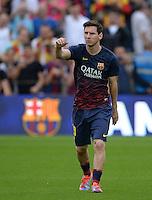 FUSSBALL  INTERNATIONAL  PRIMERA DIVISION  SAISON 2013/2014   10. Spieltag  El Clasico   FC Barcelona - Real Madrid         26.10.2013 Lionel Messi (Barca)