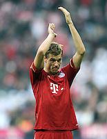 FUSSBALL   1. BUNDESLIGA  SAISON 2011/2012   11. Spieltag FC Bayern Muenchen - FC Nuernberg        29.10.2011 Holger Badstuber (FC Bayern Muenchen)