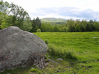 View of Mt. Monadnock in Spring, New Hampshire