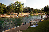 Barton Springs Pool is Austin's favorite escape for Texas' many hot summer days