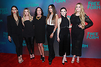 NEW YORK, NY - APRIL 19:  Troian Bellisario, Ashley Benson, I. Marlene King, Shay Mitchell, Lucy Hale and Sasha Pieterse at The 2017 Freeform Upfront in New York City on April 19, 2017. <br /> CAP/MPI/DIE<br /> &copy;DIE/MPI/Capital Pictures