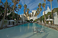 Florida, Miami, South Beach, Delano Hotel, the Pool