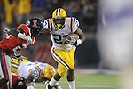 Ole Miss vs. LSU running back Kenny Hilliard (27)  at Vaught-Hemingway Stadium in Oxford, Miss. on Saturday, November 19, 2011.