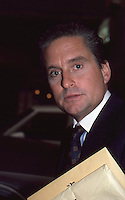 Michael Douglas 1986 NYC By Jonathan Green
