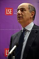 23.05.2012 - LSE presents:  Meeting Corrado Passera - Italian Minister for Economic Development
