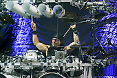 DREAM THEATER - Mike Mangini - performing live at the Eventim Apollo in Hammersmith London UK - 23 Apr 2017.  Photo credit: Zaine Lewis/IconicPix