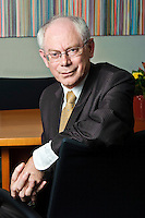 President of European Council Herman Van Rompuy Brussels, Belgium on 2010-06-11   by Wiktor Dabkowski