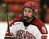 Conor Morrison (Harvard - 38) - The Harvard University Crimson defeated the visiting Brown University Bears 3-2 on Friday, November 2, 2012, at the Bright Hockey Center in Boston, Massachusetts.