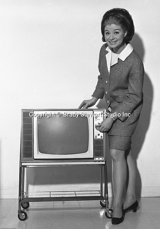 Client: Westinghouse<br /> Ad Agency: Pittsburgh Press Advertising Department<br /> Product: Westinghouse Televisions<br /> Contact: Mr. James Murray Pittsburgh Press Ad Dept.<br /> Location: Westinghouse Showcase<br /> <br /> Westinghouse Electric Portable Color Television on a TV stand.  On location photography at the Westinghouse Showcase.