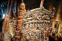 Sweden, Stockholm. The Vasa ship in the Vasa Museum.