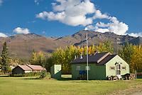 Wiseman Alaska, situated at the base of the Brooks mountain range, arctic, Alaska.