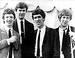 Spencer Davis Group 1965 National Jazz &amp; Blues Festival Steve Winwood, Pete York, Muff Winwood and Spencer Davis<br /> &copy; Chris Walter