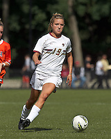 Boston College midfielder Kristen Mewis (19). Boston College defeated University of Virginia, 2-0, at the Newton Soccer Field, on September 18, 2011.