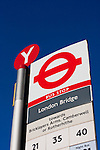 london bridge bus stop