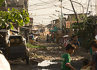 The Basico port area slum of Manila, the &quot;kindey market where over 300 men have sold their kidneys.  All recieved between 70,000 -  90,000 pesos (800 - 1030 pounds).  More than 300 have sold their kidneys in this slum of 16,000 people.<br /> <br /> PHORO BY RICHARD JONES
