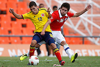 Colombia v.s Chile 13-01-2013