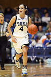 21 December 2007: Duke's Abby Waner. The Duke University Blue Devils defeated the Bucknell University Bisons 92-49 at Cameron Indoor Stadium in Durham, North Carolina in an NCAA Division I Women's College Basketball game.