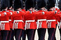 Guardsmen marching London, UK