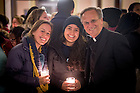 Jan. 18, 2016; Students pose for photos with Fr. John Jenkins, C.S.C. before a midnight prayer service at the Main Building rotunda in honor of the Rev. Martin Luther King Jr. holiday.  The service was the inaugural event of a campus-wide Walk the Walk Week observance, during which students, faculty and staff have been asked to reflect on the values central to Martin Luther King Jr.'s legacy and the mission of Notre Dame. (Photo by Matt Cashore/University of Notre Dame)