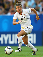 USA's Christine Nairn during the FIFA U20 Women's World Cup at the Rudolf Harbig Stadium in Dresden, Germany on July 14th, 2010.