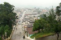 View of Coban from Templo El Calvario church, Coban, Alta Verapaz, Guatemala.