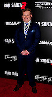 NEW YORK,NY November 015 : Brett Kelly attend the 'Bad Santa 2' New York premiere at AMC Loews Lincoln Square 13 theater on November 15, 2016 in New York City...@John Palmer / Media Punch