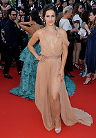 Gianna Simone at the premiere for &quot;Ismael's Ghosts&quot; at the opening ceremony of the 70th Festival de Cannes, Cannes, France. 17 May 2017<br /> Picture: Paul Smith/Featureflash/SilverHub 0208 004 5359 sales@silverhubmedia.com