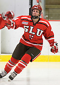 Josee Belanger (St. Lawrence - 4) - The Harvard University Crimson defeated the St. Lawrence University Saints 8-3 (EN) to win their ECAC Quarterfinals on Saturday, February 26, 2011, at Bright Hockey Center in Cambridge, Massachusetts.